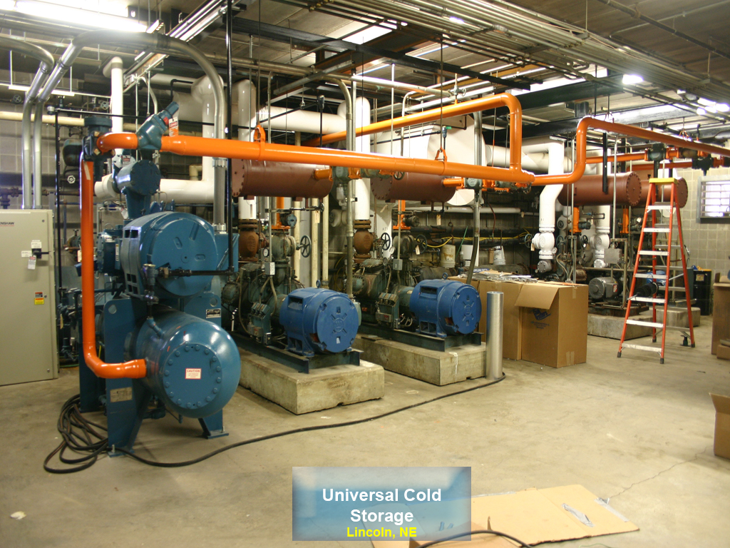 Universal Cold Storage. Project date July 6th 2015; Location Lincoln NE & LOGIC Technologies Inc.